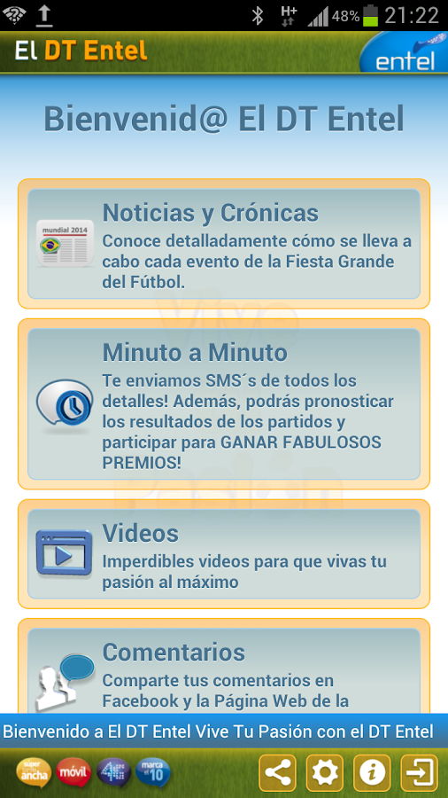 El DT Entel - screenshot
