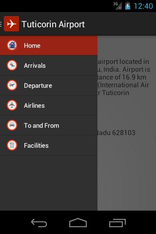 Tuticorin Airport