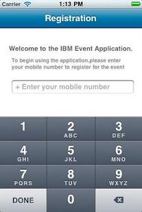 IBM Event App- screenshot thumbnail