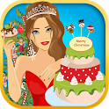 Princess Cakes Christmas icon