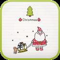 Doodle(Christmas) go locker icon