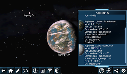Exo Planets Explorer 3D - screenshot thumbnail
