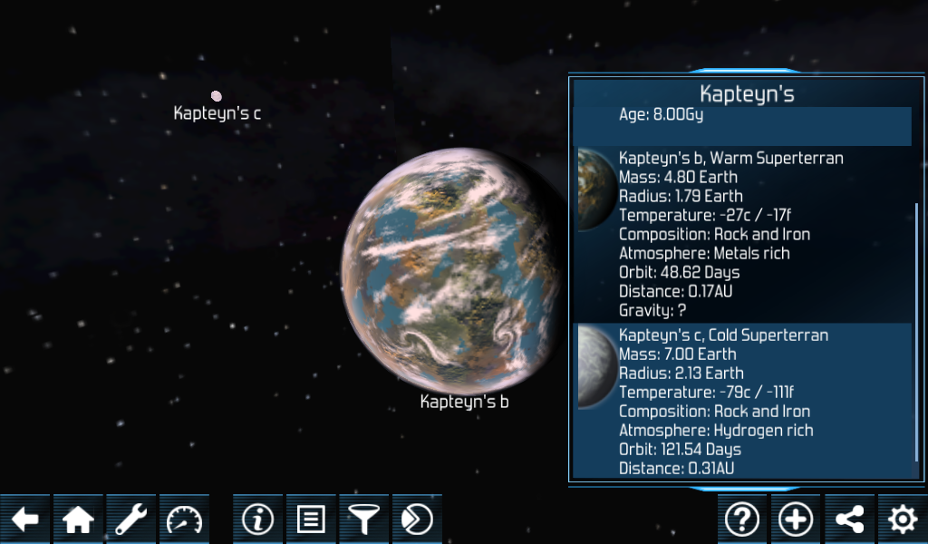Exo Planets Explorer 3D- screenshot