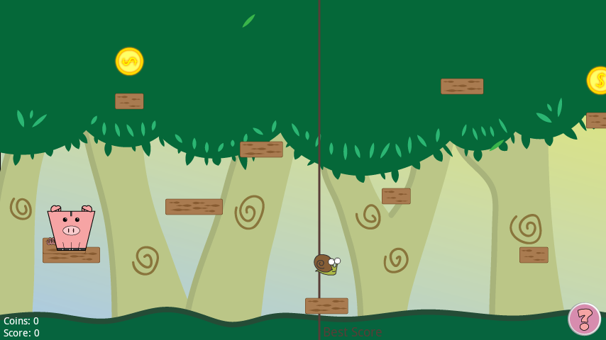 Piggy Jump- screenshot