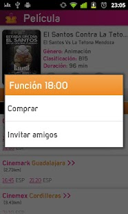 Picket+ Cartelera de Cines- screenshot thumbnail