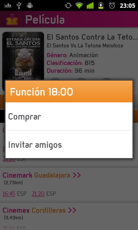 Picket+ (Cines Mexico) - screenshot