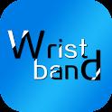 Health bracelet icon
