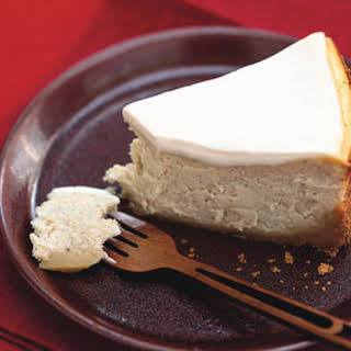 Chai-Spiced Cheesecake with Ginger Crust.