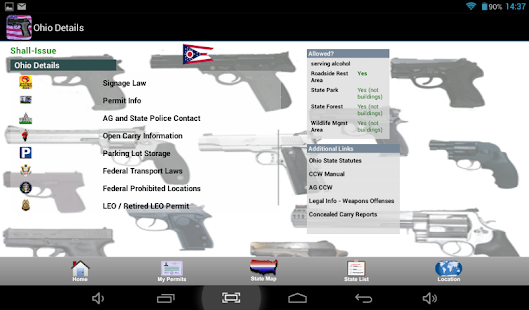 CCW – Concealed Carry 50 State - screenshot thumbnail