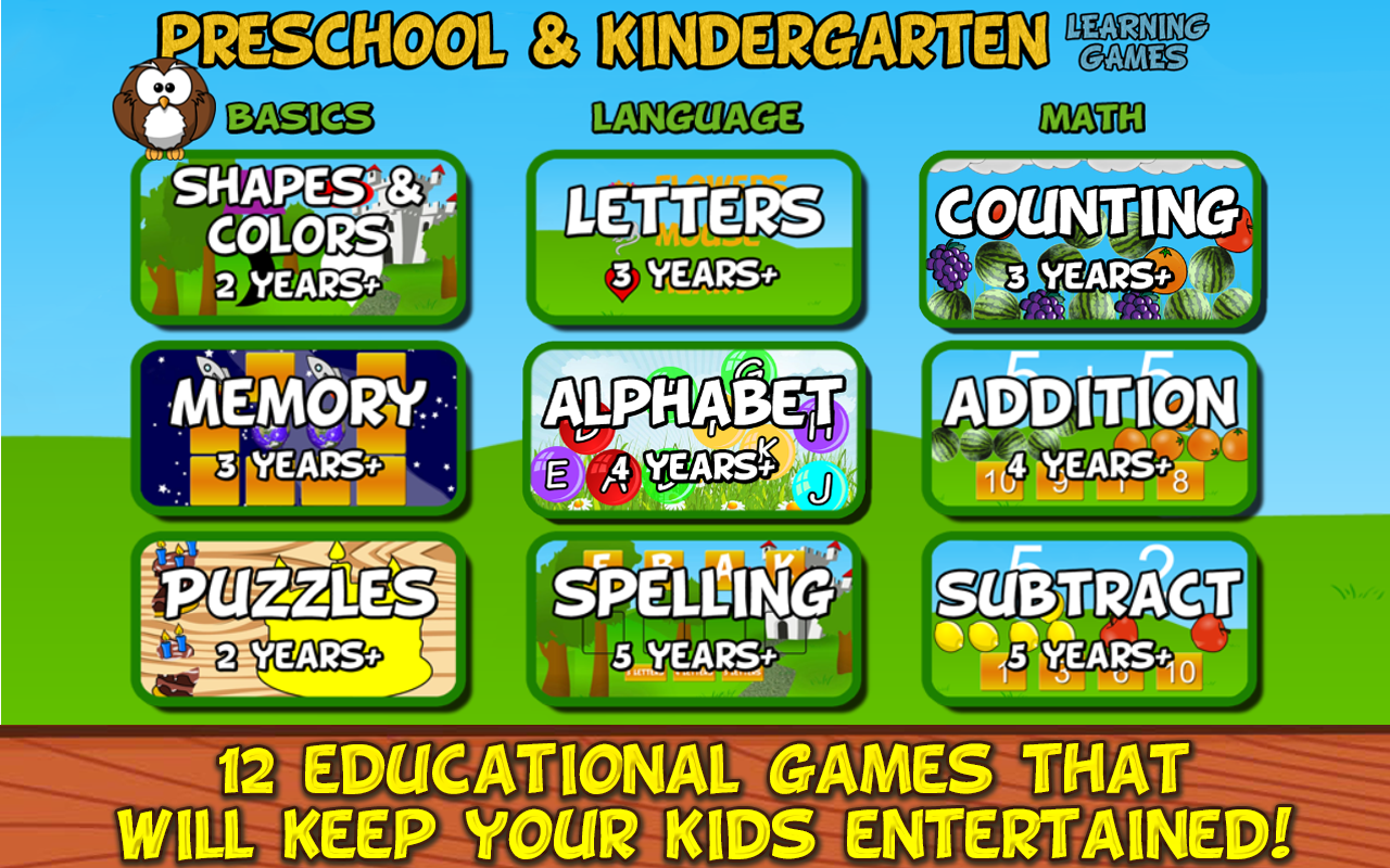 Worksheet Kindergarten Online Learning preschool and kindergarten android apps on google play screenshot