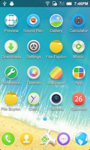 玩免費個人化APP 下載清凉夏日 _Turbo EX桌面主題 app不用錢 硬是要APP
