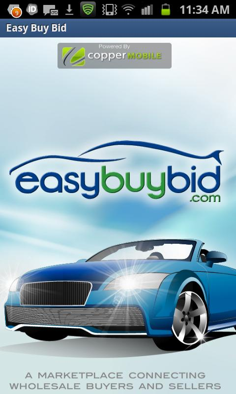EasyBuyBid - screenshot