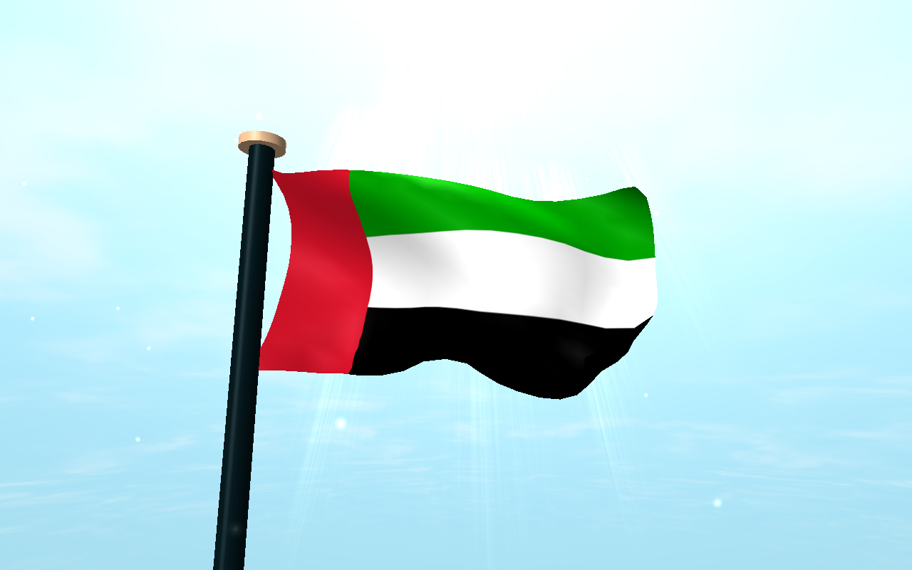 uae flag 3d free wallpaper android apps on google play