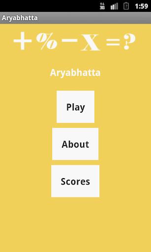 Math Aryabhatta