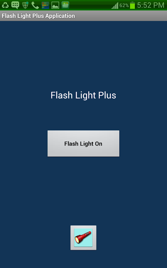 Brightest Flashlight AtoZ ™ - screenshot
