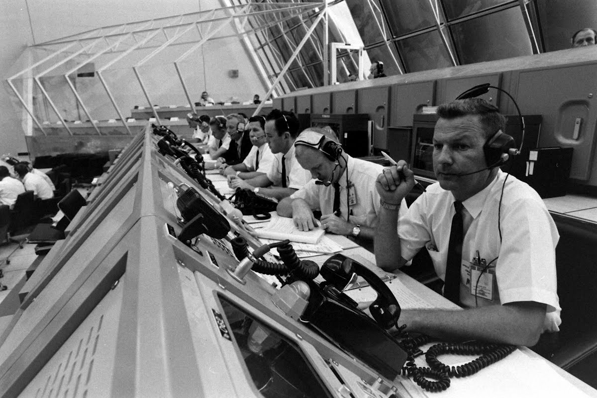 Saturn V Launch Control Center