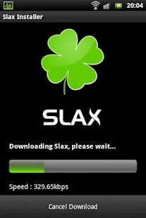 Slax Installer - screenshot thumbnail