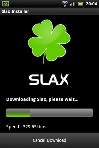Slax Installer - screenshot