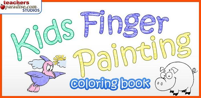 Finger Painting Dzieci Gry Artapk