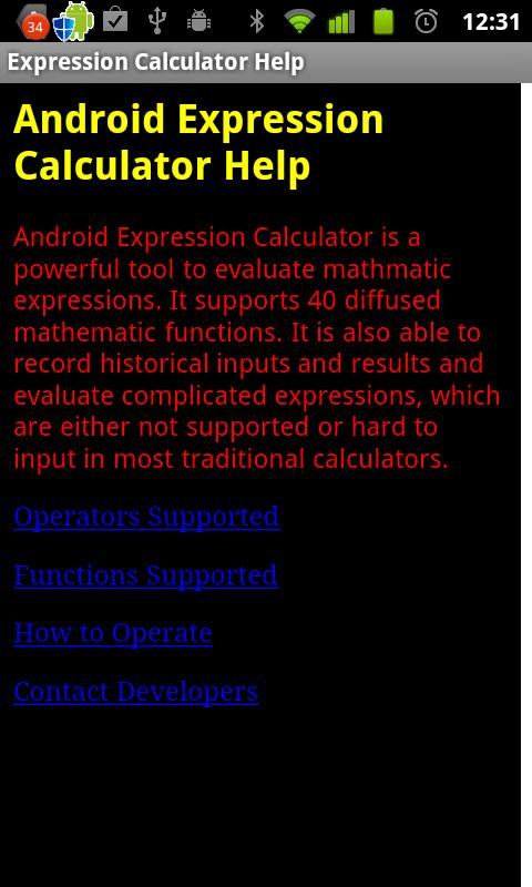 Scientific Calculator Exp - screenshot