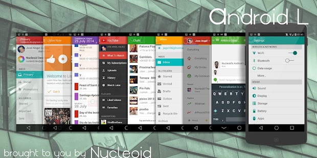 Lollipop 5.0 CM11/PA Theme- screenshot thumbnail