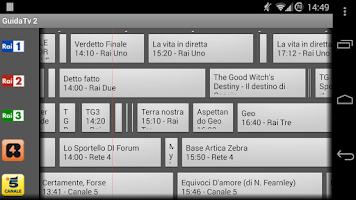Screenshot of Guida Tv Donazione