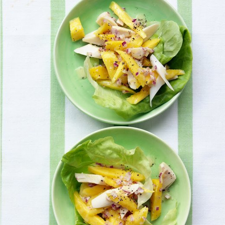Mango and Hearts of Palm Salad with Lime Vinaigrette Recipe
