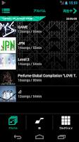Screenshot of Perfume Music Player