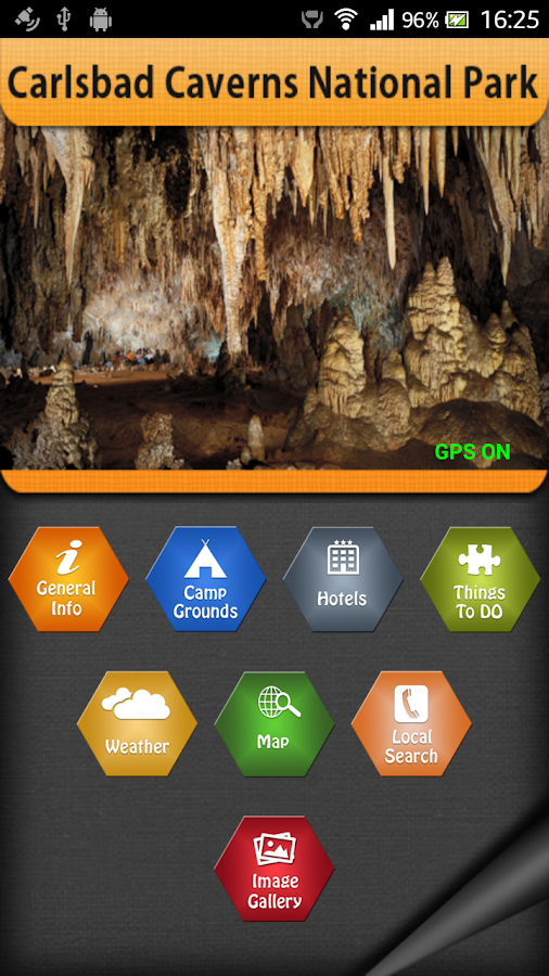 Carlsbad Caverns National Park- screenshot