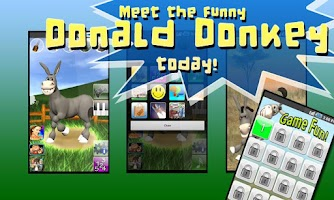 Screenshot of Talking Donald Donkey AdFree