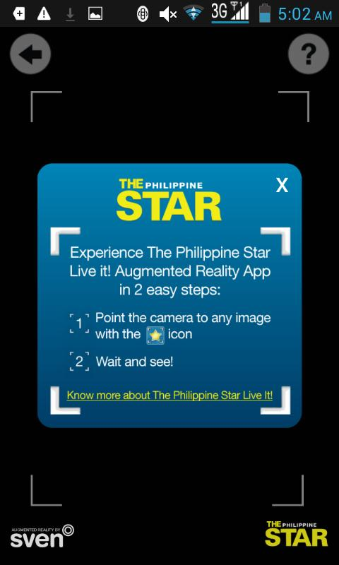 The Philippine Star Phone App- screenshot