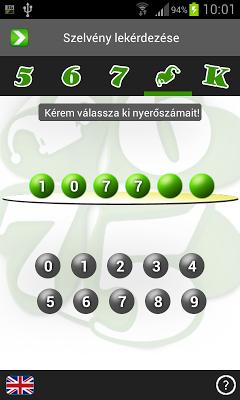 Lottó Figyelő - screenshot