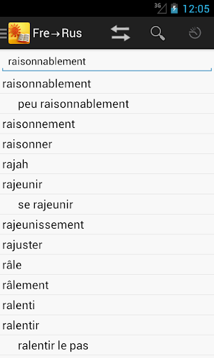 RussianFrench Dictionary