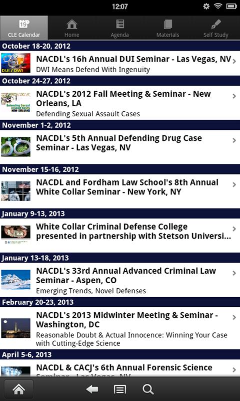 NACDL CLE+ - screenshot
