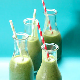 Spinach And Strawberry Smoothie.