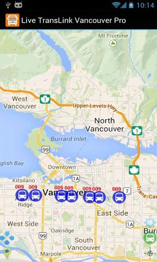 Live TransLink Vancouver Pro