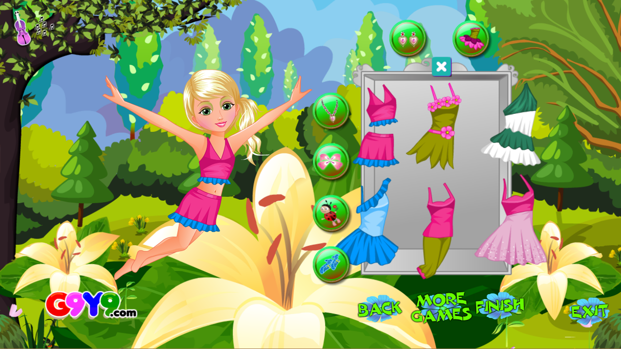 cute fairy princess- screenshot