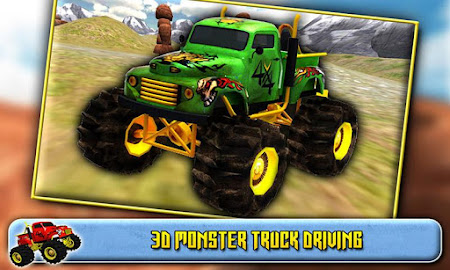 3D Monster Truck Driving 1.6 screenshot 41582