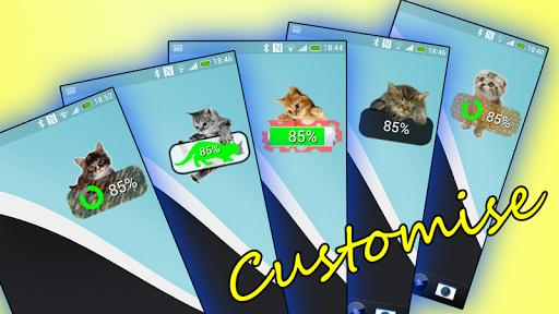 Kitten Battery Widget Premium