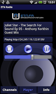 ETN Radio Player- screenshot thumbnail