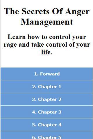 Secrets Of Anger Management