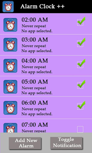 Alarm Clock ++
