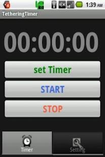 TetheringTimer- screenshot thumbnail