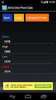 Screenshot of All In One Pivot Calc