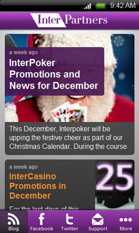 InterPartners News - screenshot