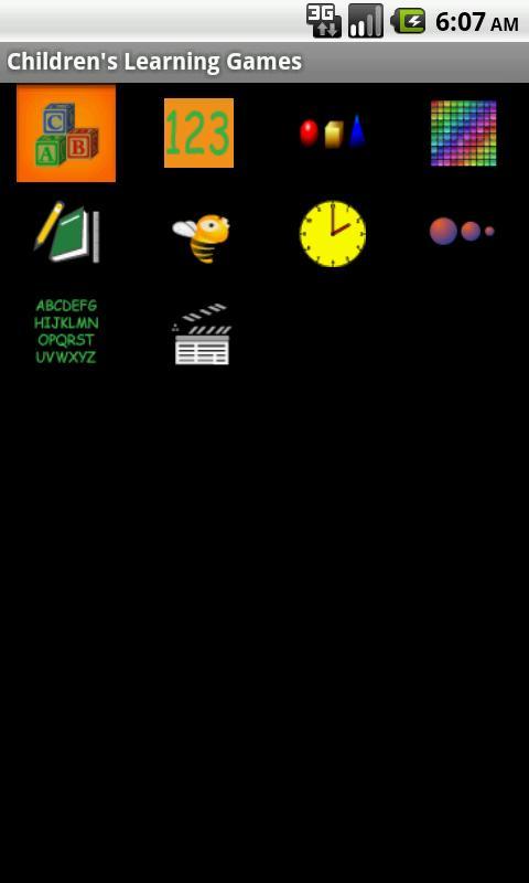 Children's Learning Games- screenshot