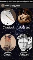 Screenshot of Perle di Saggezza