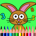Easter Math Coloring Book