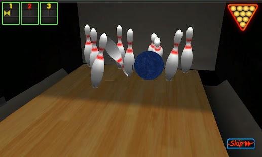 Real 3D Bowling (HarlemStrike) - screenshot thumbnail