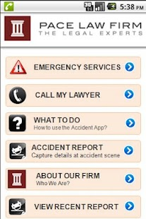 Accident  App by Pace Law - screenshot thumbnail